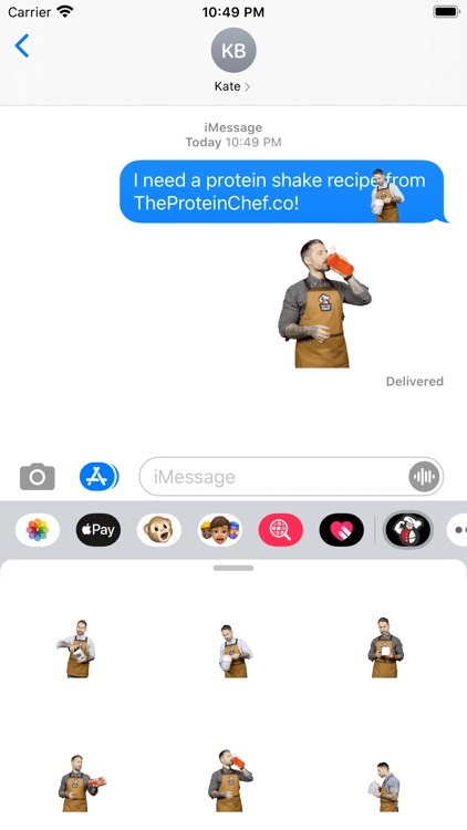 The Protein Chef Reactions