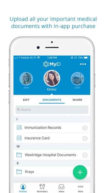 MyID – Medical ID Profile screenshot-3