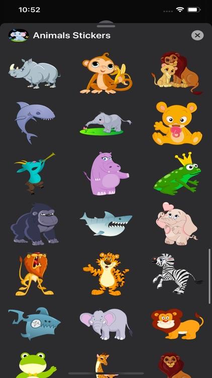 Animals Stickers & Emojis screenshot-6