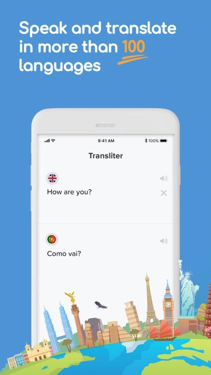 Instant Translate - Transliter