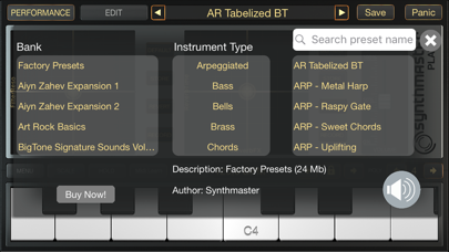 SynthMaster Player Screenshots