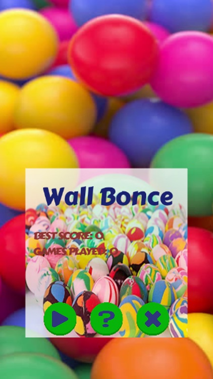 The Bounce wall Ball Rock