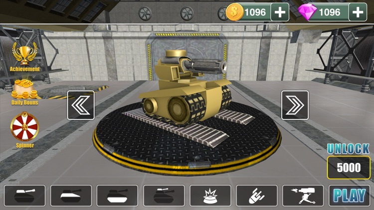 Army Tank War Machine