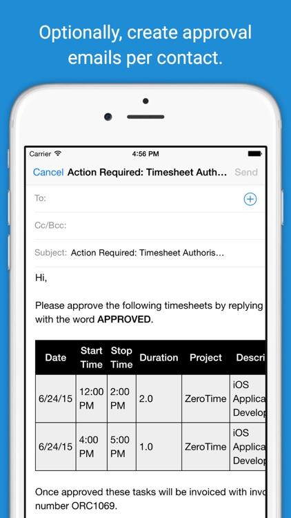 ZeroTime® - Invoice in No Time