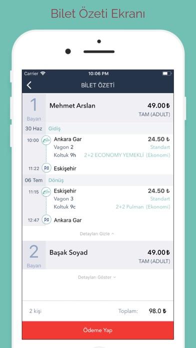 Screenshot for E-Bilet in Azerbaijan App Store