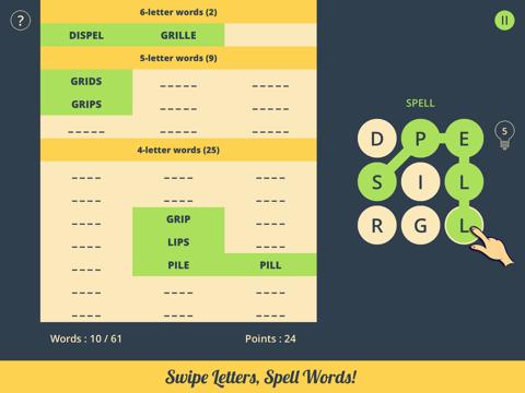 Spell Grid 2: Brain Teasers - náhled
