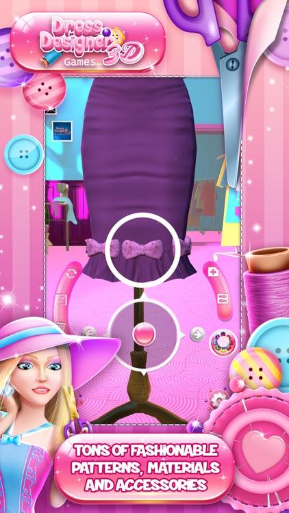 Dress Designer Games 3D screenshot-4