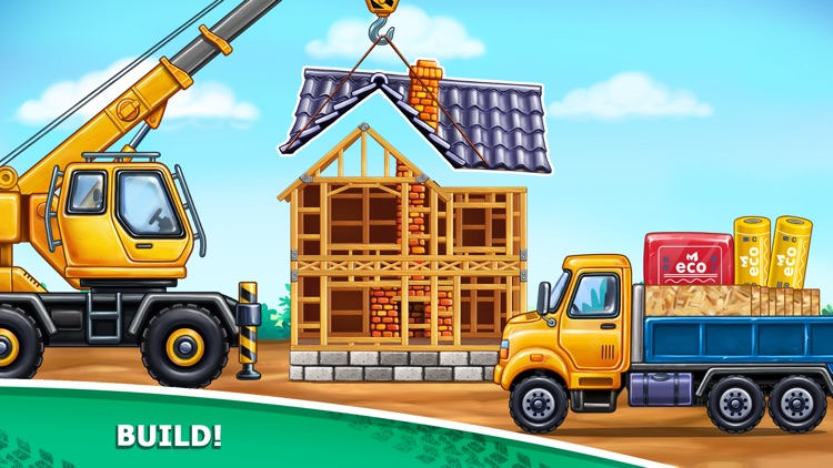Build a House for Tractor Game screenshot-3