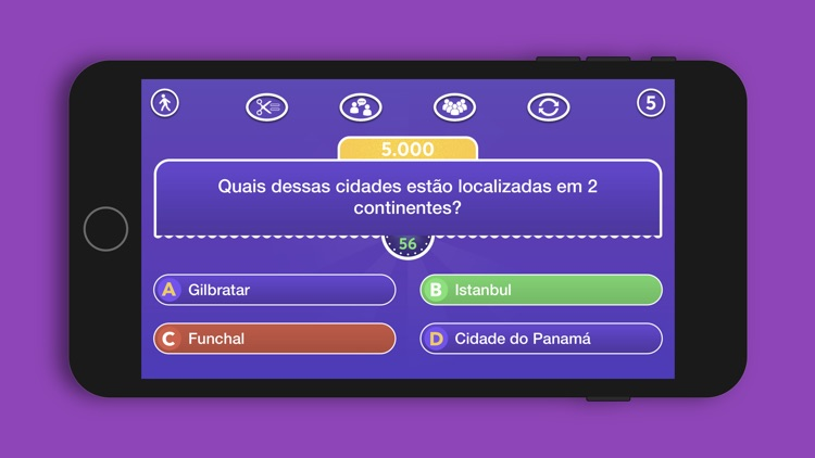 Quiz Conhecimentos Gerais screenshot-3