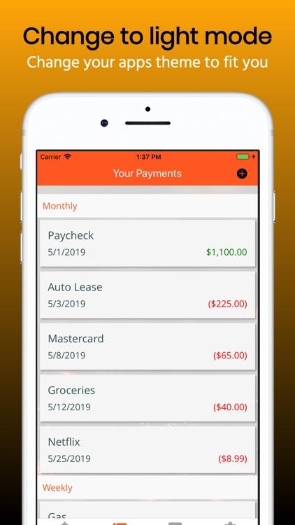Budget Planner. screenshot-3