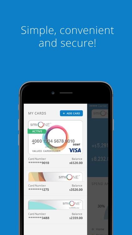 Platinum smiONE Visa Prepaid