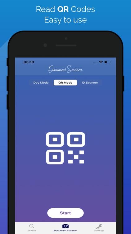 ID Scanner &PDF Scanner QRCode