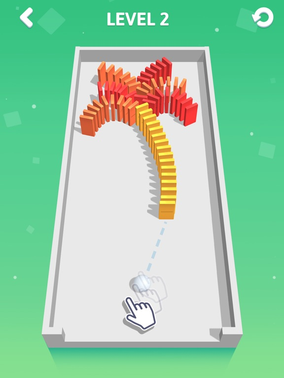 iPad Image of Rolling Domino