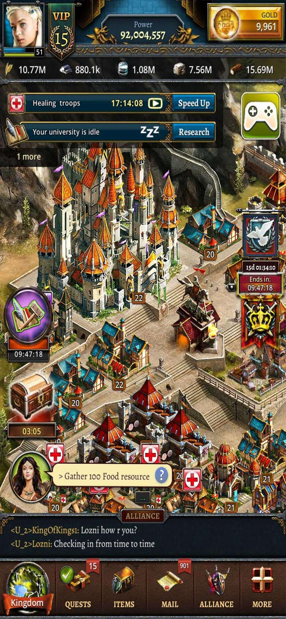 Age of Lords: Legends & Rebels Cheat Codes