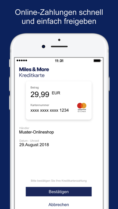 messages.download Miles & More Credit Card software