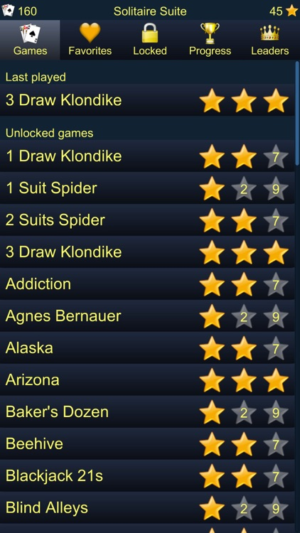 150+ Card Games Solitaire Pack screenshot-4