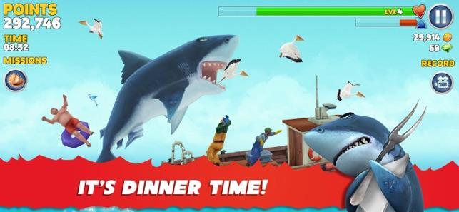 hungry shark evolution mod apk unlimited money and gems ios