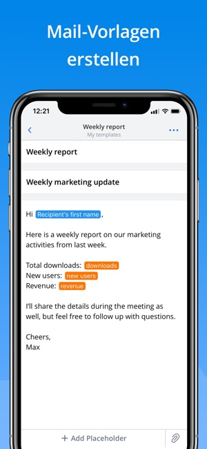 Spark – E-Mail-App von Readdle Screenshot