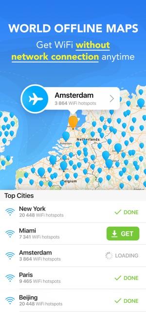 WiFi Map Pro - WiFi Everywhere Screenshot