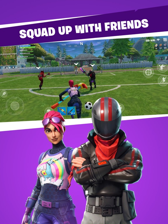 iPad Image of Fortnite