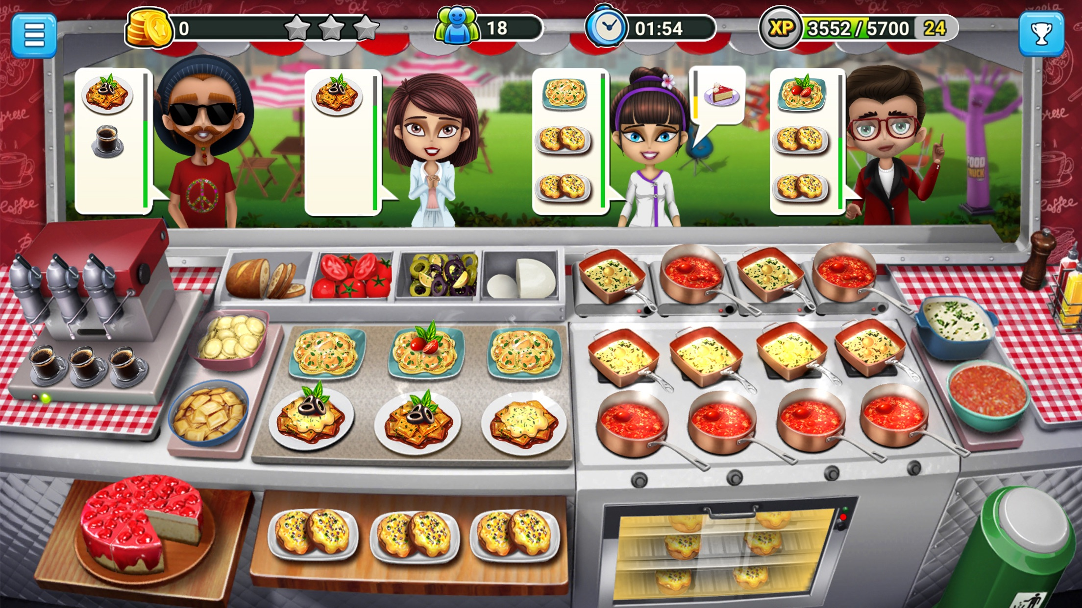 Food Truck Chef™: Cooking Game Screenshot