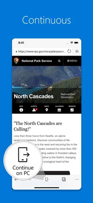 Microsoft Edge on the App Store