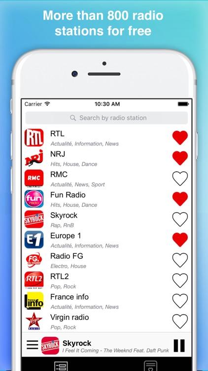 Radios France : french radio