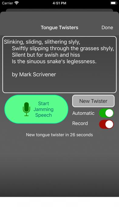 Speech Jammer review screenshots