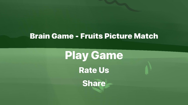 Brain Game Fruit Picture Match screenshot-5