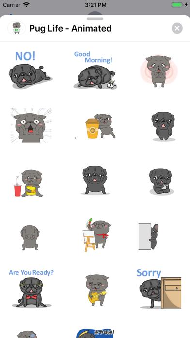 Pug Life - Animated screenshot 5