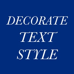 Decorate Text Style
