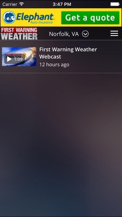 News 3 - First Warning Weather screenshot-4
