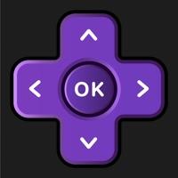 Pad for Roku TV Remote Control