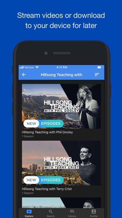 Hillsong Channel NOW screenshot-3