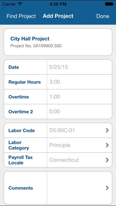 Deltek Vision Time & Expense screenshot one