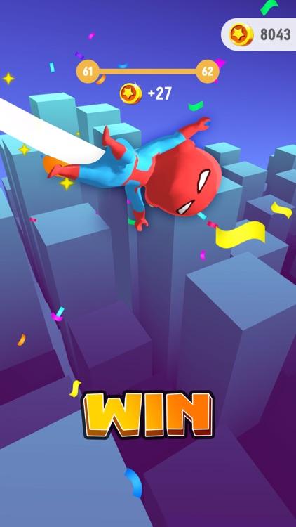 Swing Hero - Leap And Glide 3D screenshot-4