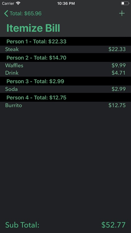 Simple Tip Calculator $ screenshot-3