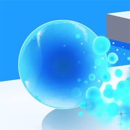 Roller Color Ball: Paint Splat