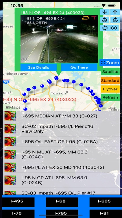 Traffic Cameras Maryland Pro screenshot-5