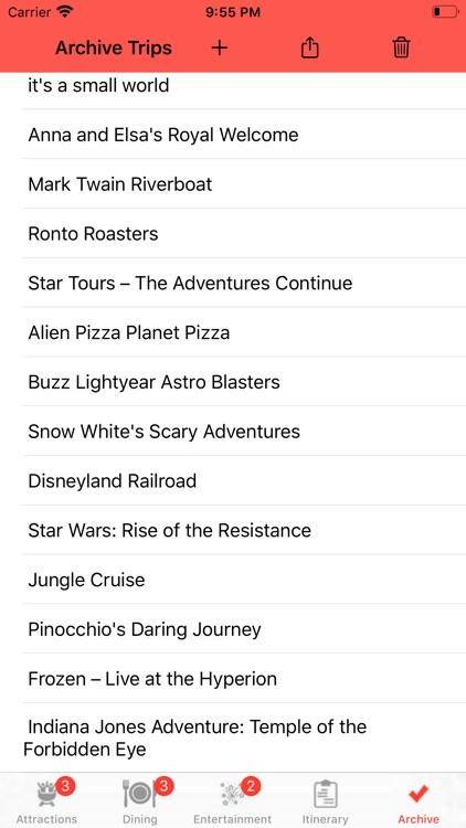 Theme Park Checklist: Anaheim screenshot-4