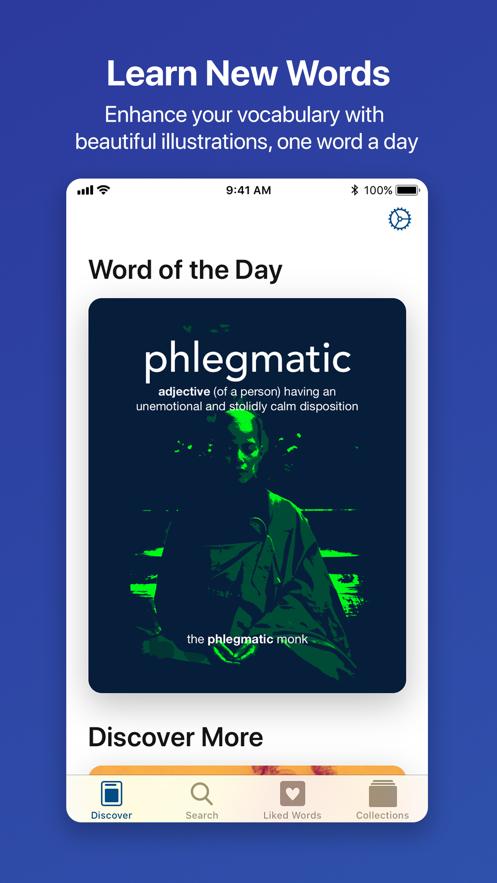 LookUp: English dictionary App 截图