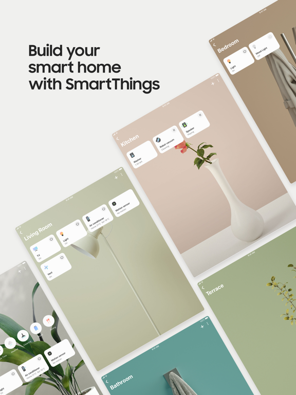 iPad Image of SmartThings