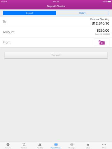 1ST SUMMIT Mobile Banking - náhled