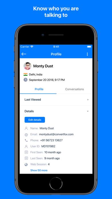Gist Live Chat screenshot four