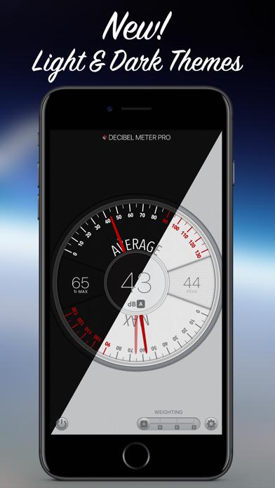 Decibel Meter Pro review screenshots