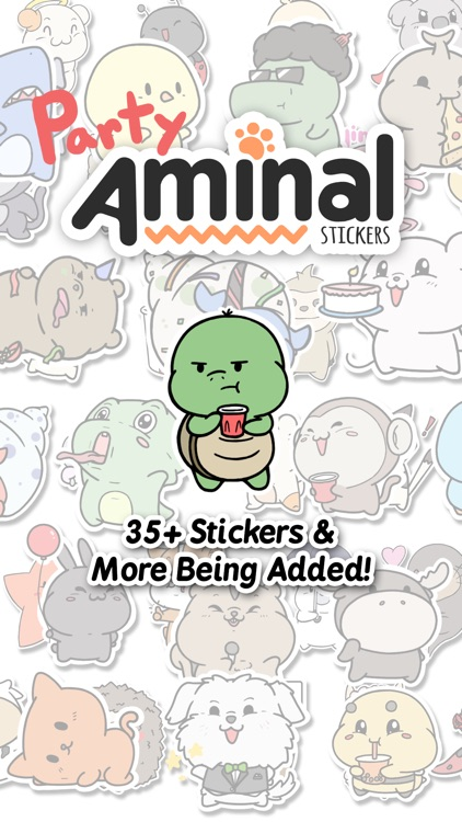 Party Aminals: Stickers