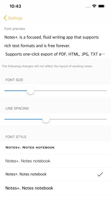 Notes+. screenshot-7