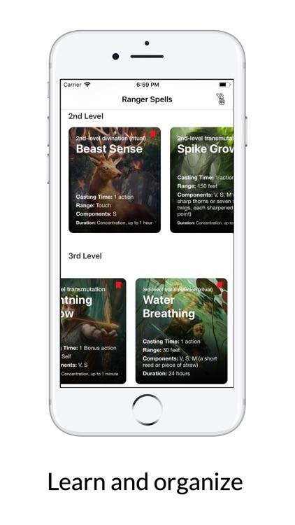 Spells for D&D 5e screenshot-3