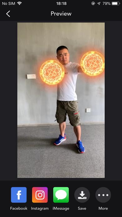 SuperFX: Effects Video Editor screenshot 3