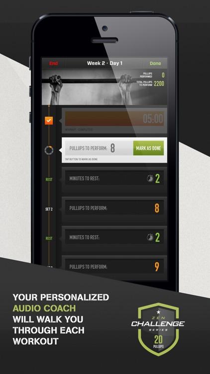 20 Pull Ups Trainer Challenge screenshot-3